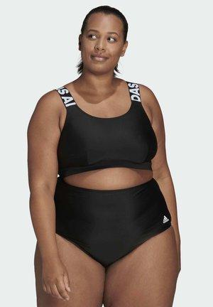 RO BRANDED PLUS SIZE - Bikini top - black