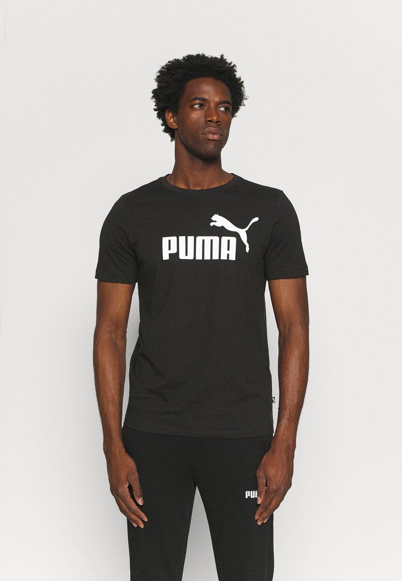 Puma - LOGO TEE - Triko spotiskem - black
