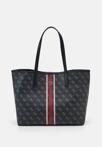 Guess - VIKKY TOTE - Handbag - coal - 1