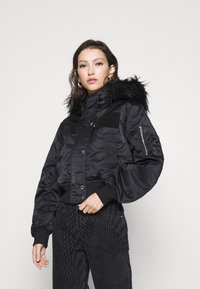 Diesel - SAMOEI JACKET - Light jacket - black - 0
