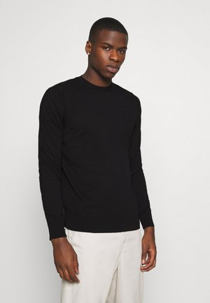 FINE GAUGE CREW  - Jumper - black