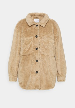 NMSUZZI JACKET - Summer jacket - camel