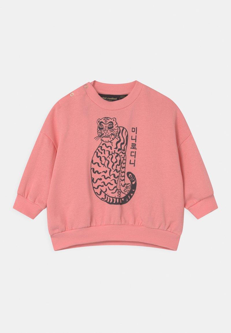 Mini Rodini - TIGER UNISEX - Sweatshirt - pink