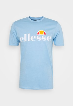 HAREBA - Camiseta estampada - light blue