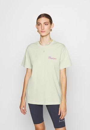 TEE POPINCOURT KINDNESS - T-shirt print - light mint