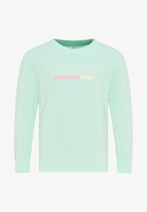 Sweatshirt - minze hellgrau