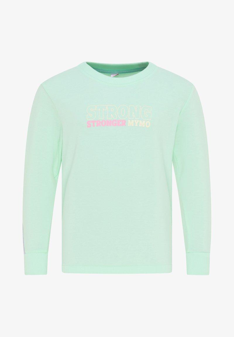 myMo KIDS - Sweatshirt - minze hellgrau