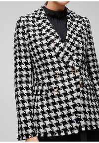 s.Oliver BLACK LABEL - Blazer - black check