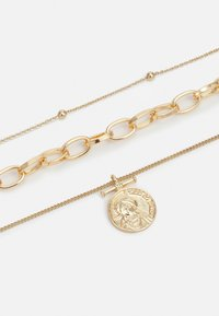Pieces - PCKETHIA COMBI NECKLACE - Smykke - gold-coloured - 2