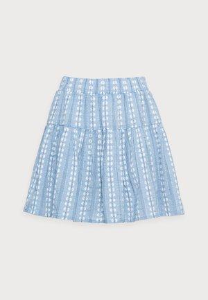 YASPACCA SKIRT PETITE - Mini skirt - cashmere blue