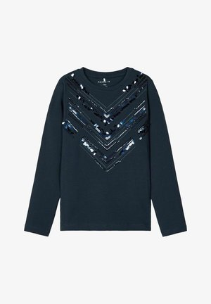 Långärmad tröja - dark sapphire