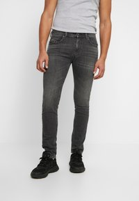 Diesel - THOMMER-X - Jean slim - grey denim - 0