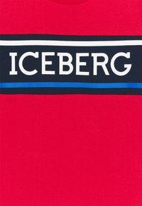 Iceberg - Print T-shirt - red - 2