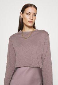 AllSaints - BENNO TEE DRESS SET - Long sleeved top - taupe - 3