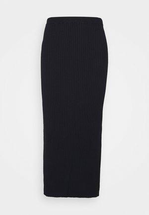 SKIRT - Pouzdrová sukně - navy
