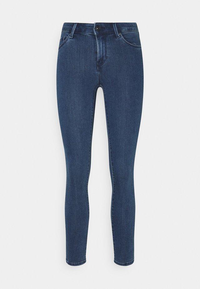 ONLRAIN LIFE - Jeans Skinny Fit - dark blue denim