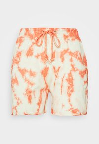 Missguided - TIE DYE ELASTICATED WAIST RUNNER SHORTS - Shorts - orange - 3
