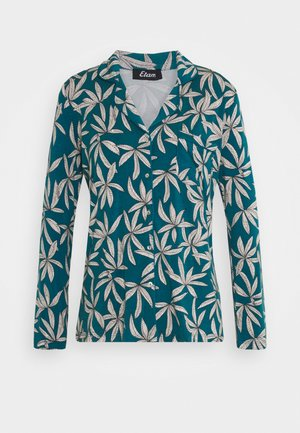DEBBIE CHEMISE - Pyjama top - bleu canard