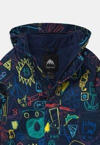 Burton - CLASSIC ART CLASS UNISEX - Snowboardová bunda - black/multi-coloured - 3