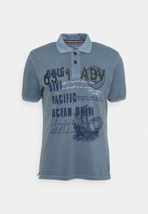 AGENCY - Koszulka polo - flintstone blue