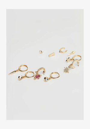 SET - Earrings - gold coloured