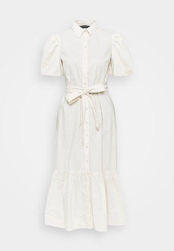 DRESS - Vestido camisero - stone