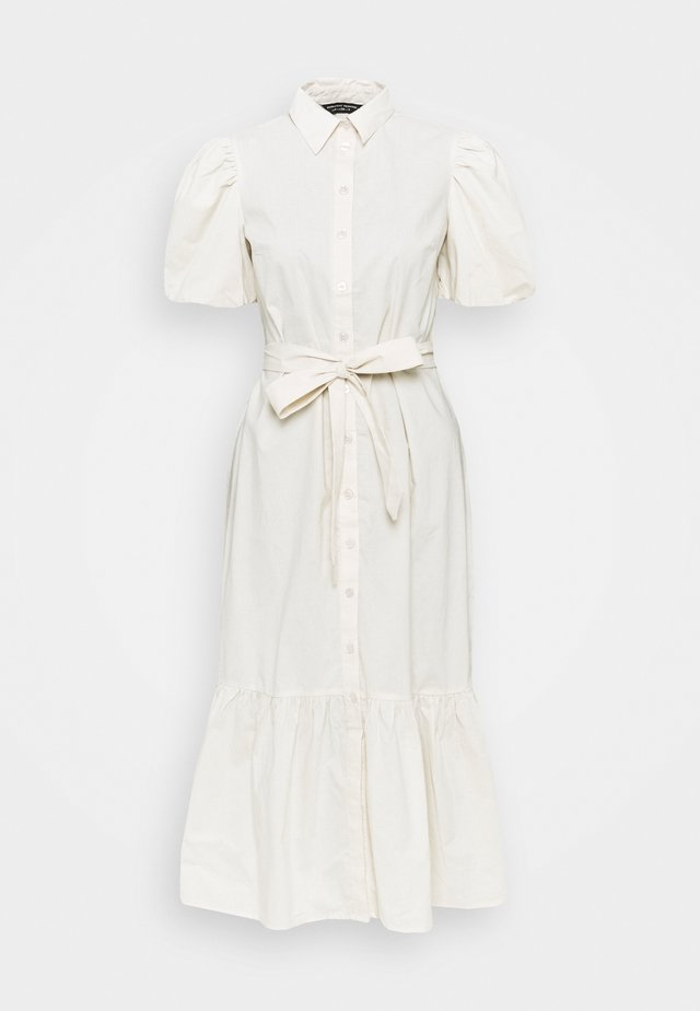 DRESS - Shirt dress - stone