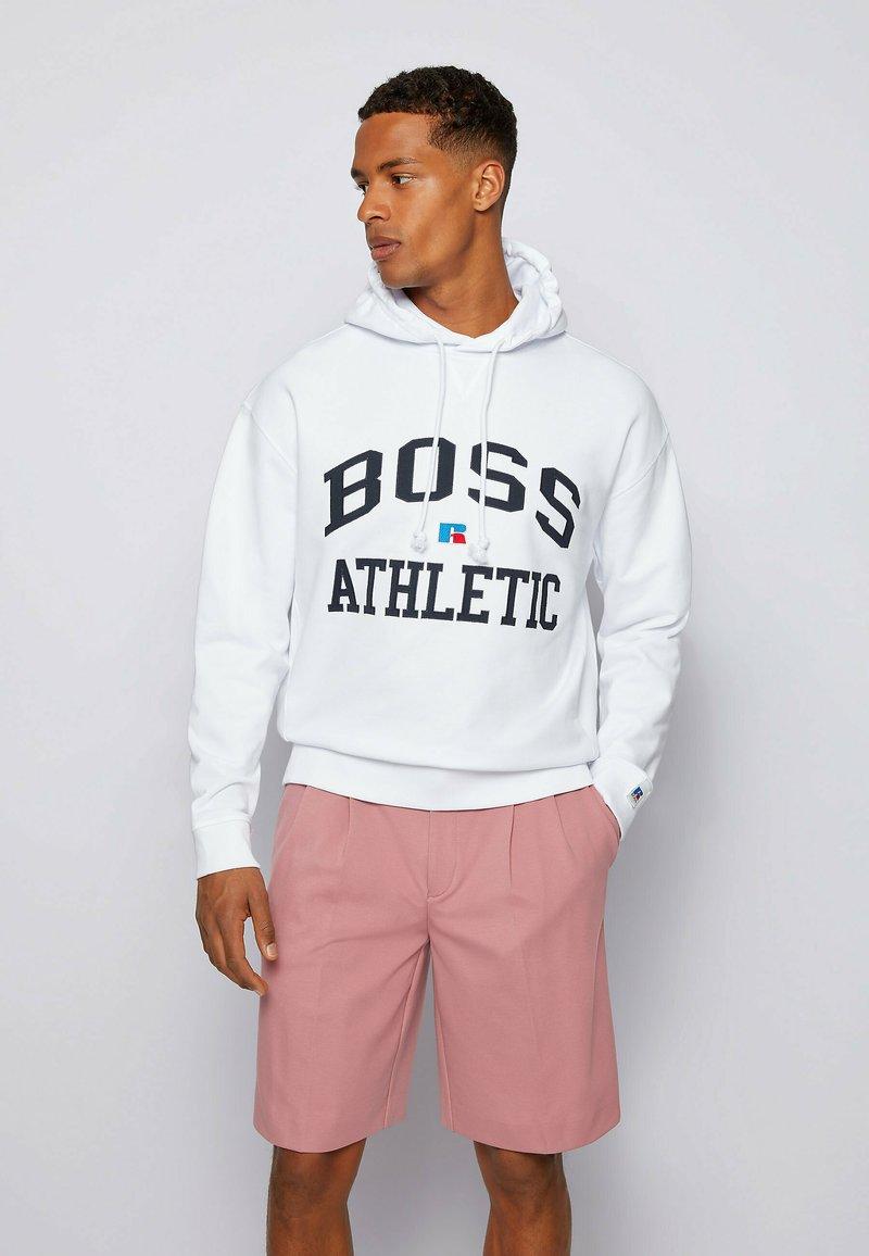 BOSS - Hoodie - white