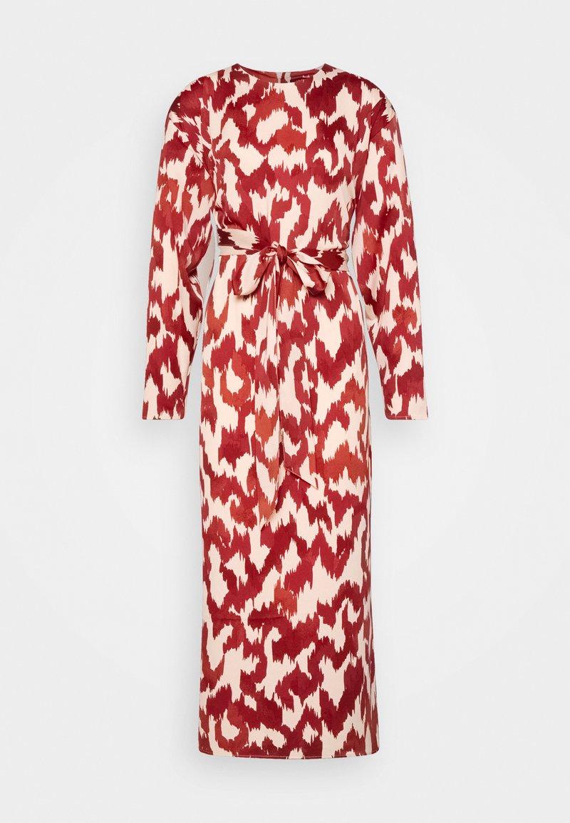 Lindex - DRESS ABIGAIL - Robe d'été - dusty red