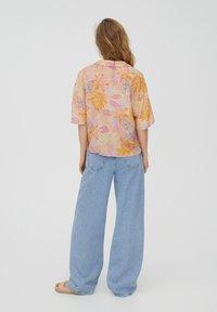 PULL&BEAR - Button-down blouse - orange - 2