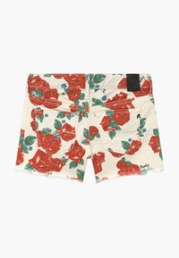 Replay - Shorts vaqueros - white/red - 1
