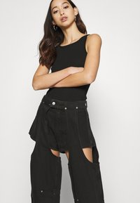 Weekday - MARIAH  - Jeans straight leg - washed black - 3