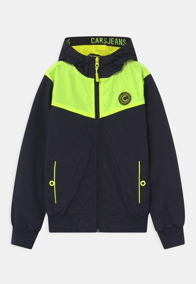 SPYGLASS - Overgangsjakker - neon yellow