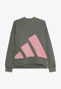 adidas Performance - CREW - Sweatshirt - khaki - 3