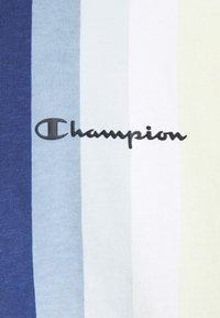 Champion - T-shirts print - blue/yellow - 5