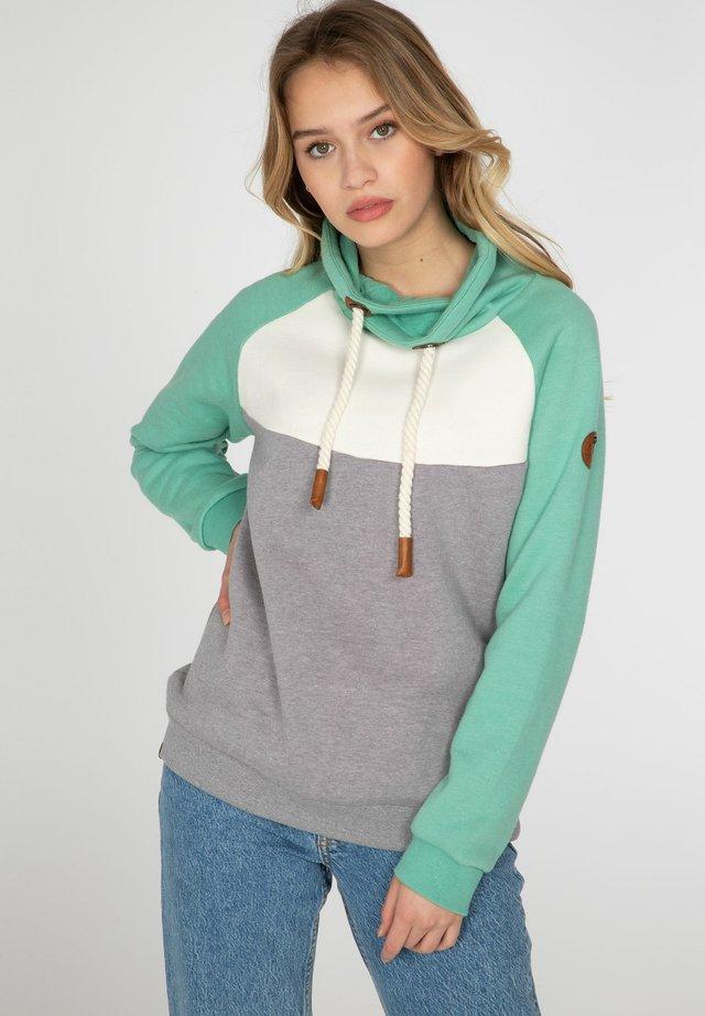 CARISSA - Sweater - dark grey melee