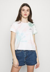 Levi's® - GRAPHIC SURF TEE - T-shirts med print - tie dye - 0