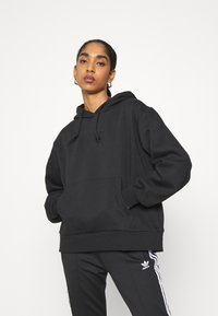 adidas Originals - HOODIE  - Sweatshirt - black - 0