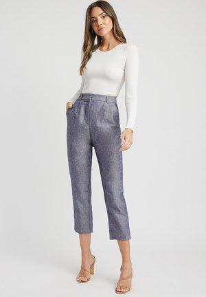 Trousers - lq blue