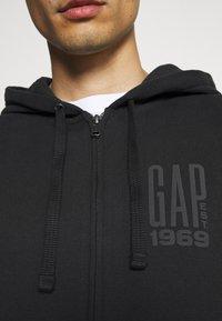 GAP - Zip-up hoodie - moonless night - 3