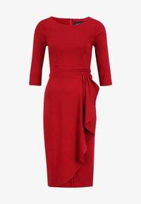 Collectif - CHANTELLE - Cocktail dress / Party dress - burgundy - 5