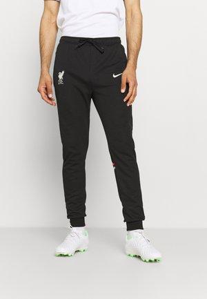 LIVERPOOL FC TRAVEL PANT - Club wear - black/fossil