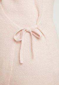 GAP Maternity - SIDE TIE WRAP - Cardigan - pink - 5