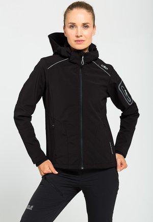 Soft shell jacket - nero