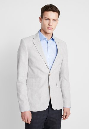 POW CHECK BLAZER - Suit jacket - grey