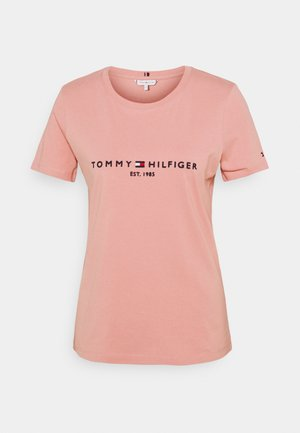 REGULAR TEE - Print T-shirt - soothing pink