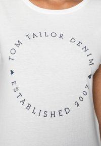 TOM TAILOR DENIM - 2 PACK - Print T-shirt - real navy blue - 5