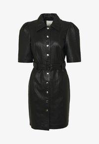 Object - OBJSTAR  DRESS  - Shirt dress - black - 3