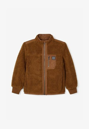 Fleece jacket - coffee liqueúr