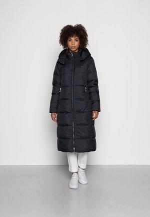 TWO TONE PADDED MAXI - Winter coat - black